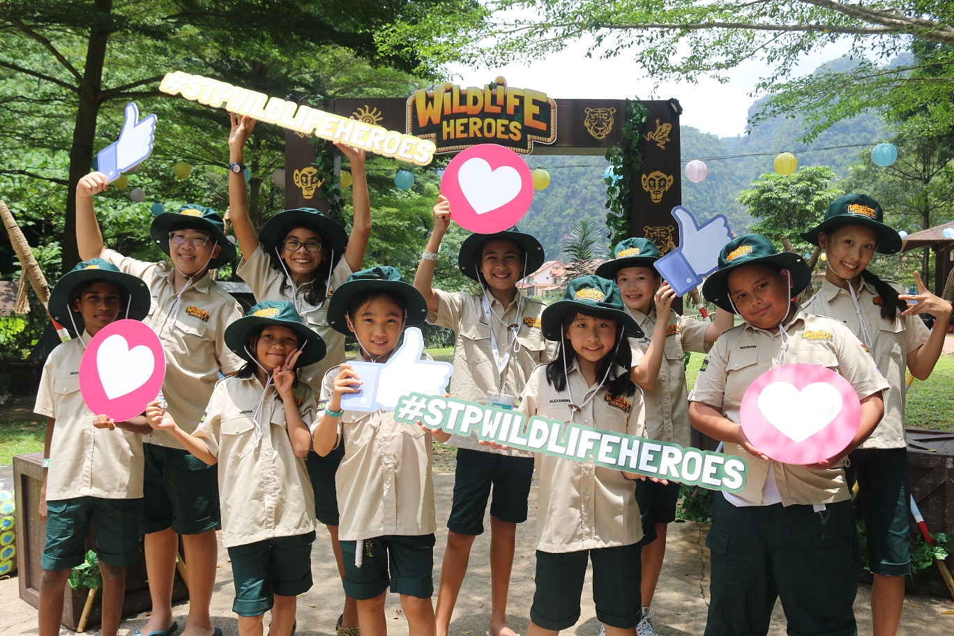 Sunway Theme Parks Wildlife Heroes